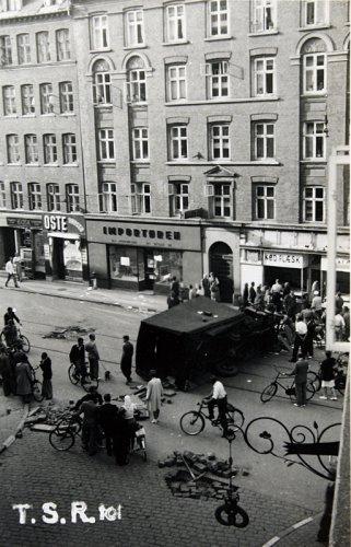 Folkestrejke i købinghavn